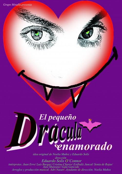 El pequeño Drácula enamorado.